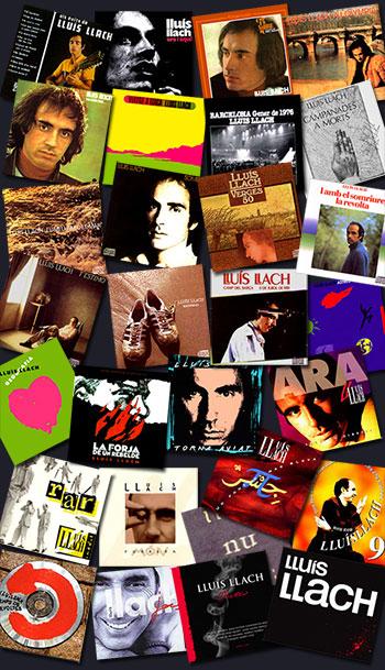 discographie Lluis Llach tous les disques