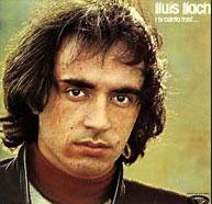 """Pochette de l'album """"i si canto trist"""""""