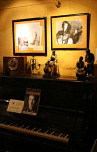 Le piano du restaurant Mas Pi sur lequel Lluís Llach a composé L'estaca