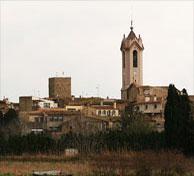 Le clocher de l'église de Vergès